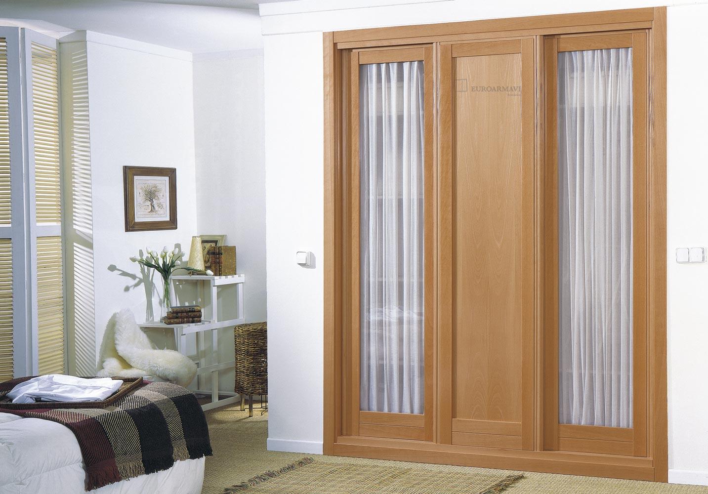 Armarios con fotos stunning armario empotrado con frentes - Puertas abatibles para armarios empotrados ...